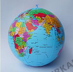 Political Globe Beachball spanish 40cm (16 inch)