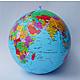 Politischer Globus Wasserball spanisch 40cm