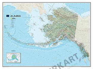 NGS Alaska Karte