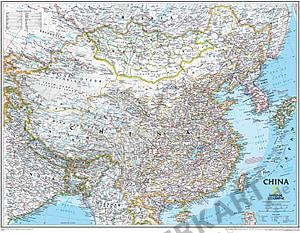 China Karte