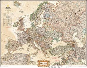 Executive Europa Karte (Großformat)