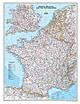 Frankreich und Benelux Karte
