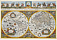 Blaeu's Weltkarte (1665) XL 160 x 110cm