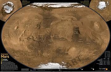Der Mars Poster