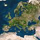 Europa und Nordafrika Poster