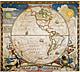 Entdecker Weltkarte - Westliche Hemisphäre von National Geographic