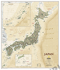 Japan Executive Landkarte