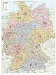 Postleitzahlenkarte Deutschland