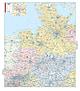 Postleitzahlenkarte Nord- und Westdeutschland