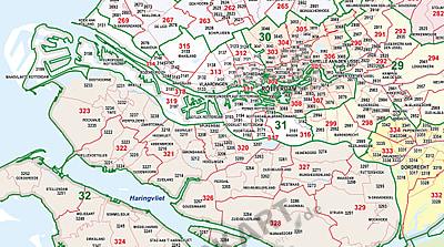 Zip rotterdam code netherlands Netherlands Mailing