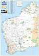 West Australien Karte