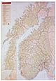 Norwegen Straßenkarte