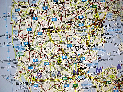 wall map of western europe Western Europe Road Wall Map 87 x 124cm