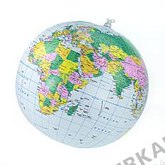 Aufblasbarer Globus 30cm englisch