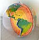 Topografisk oppustelig globe med Jordens kerne 92 cm