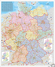 Organisationen kort Tyskland
