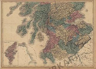 1854 - Scotland & Shetland Isles