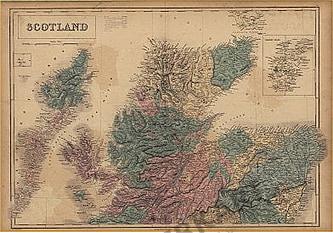 1854 - Scotland & Orkney Isles