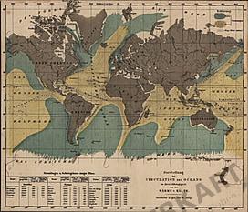 1855 - Zirkulation des Ozeans (Replikat)