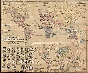 1854 - Religionen und Völker (Replikat)