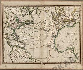 1835 - Der atlantische Ozean (Replikat)