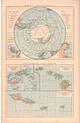 1885 - South Polar Region and Polynesian Islands (Replica)