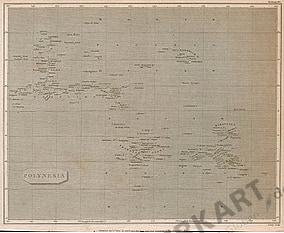 1806 - Polynesien 28 x 22cm
