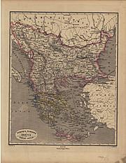 1867 - Turchia Europea la Grecia e le isole sonie