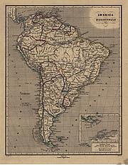 1867 - America Meridionale