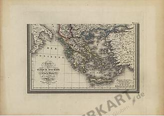 1826 - Europäische Türkei und Griechenland (Süd)