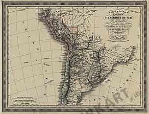 1826 - South America