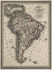 1825 - South America (Replica)