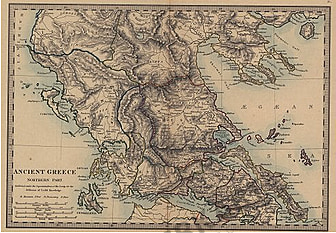 1872 - Ancient Greece Northern Part