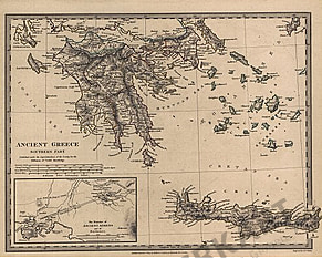 1829 - Ancient Greece Southern Part