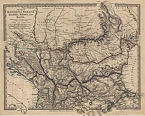 1830 - Macedonia, Thracia, Illrya, Moesia, und Dacia