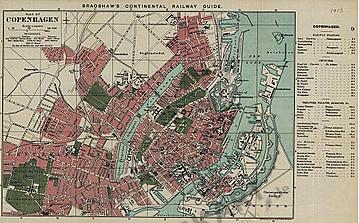 1913 - Plan of Copenhagen (Replica)