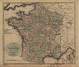 1801 - France Departments