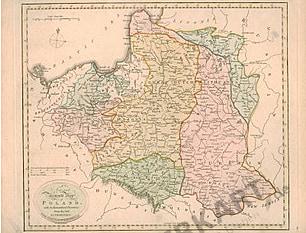 1801 - Polen (Replikat) 41 x 32cm