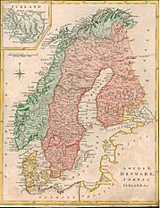 1794 - Schweden, Dänemark, Norwegen & Island