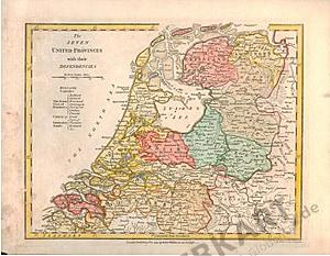 1794 - Niederlande 33 x 27cm