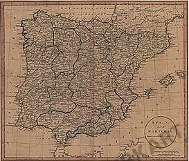 1801 - Spain & Portugal