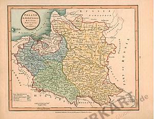 1801 - Polen (Replikat) 31 x 25cm