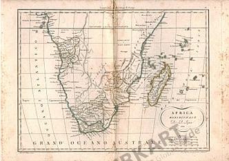1811 - Southern Africa (Replica)