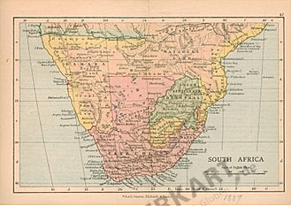 1889 - Southern Africa