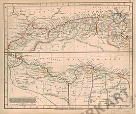 1829 - Africa Septentrionales