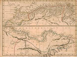 1828 - Africa Septentrionales