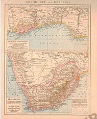 1881 - South Africa and Goldcoast (Replica)