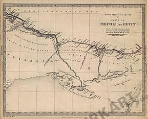 1837 - Tripoli und Ägypten