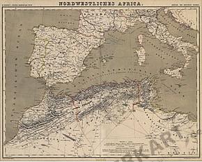 1857 - Northwestern Africa