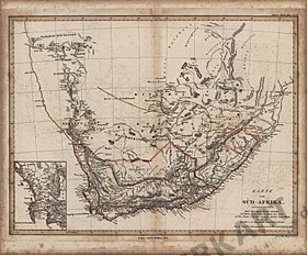 1841 - Southern Africa